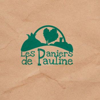 creation de logo Paniers de Pauline